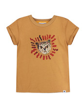 T-shirt - Zoe Light Camel