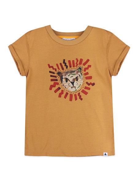 T-shirt - Zoe Light Camel
