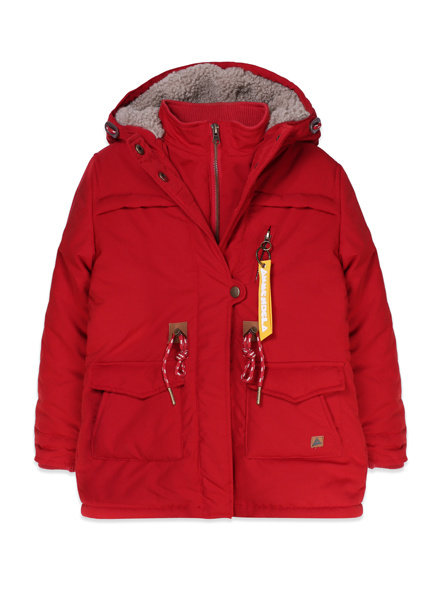 Jacket - Storm Warm Red