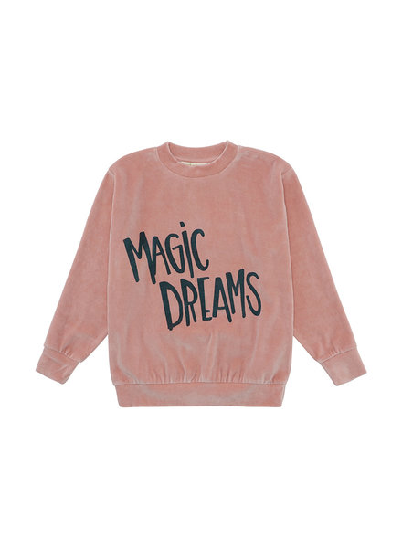 OUTLET // Sweatshirt - Baptiste Magic Dreams Cameo Brown