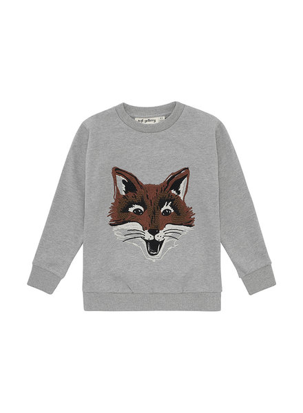 Sweatshirt - Konrad Fuzzyfox Grey Melange