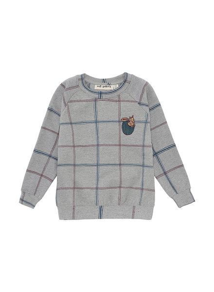 Sweatshirt - Chaz Trellis Neppy Grey Melange