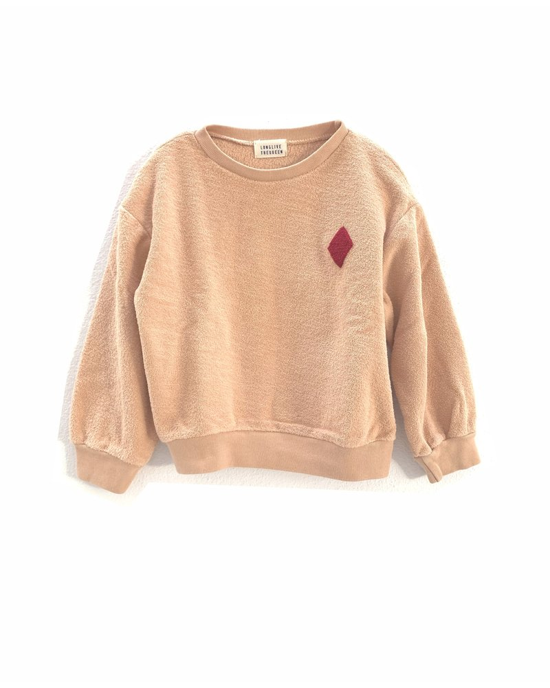 Sweater - Rough Terry Natural