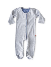 Little Label jumpsuit met voetjes - blue stripe