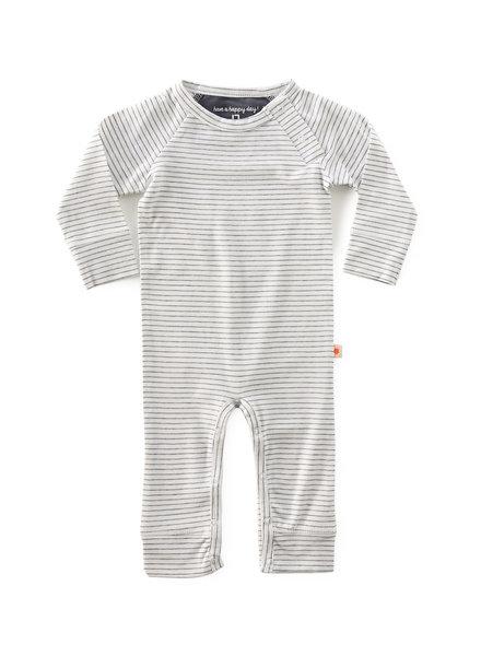 jumpsuit - anthracite stripe
