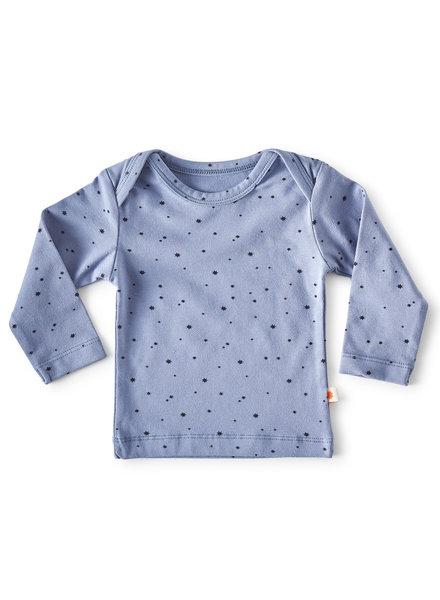 Little Label longsleeve - blue star