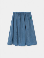 Midi skirt - Green Moon Cupro
