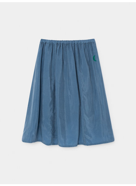 OUTLET // Midi skirt - Green Moon Cupro