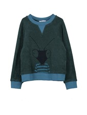 Sweater - Tobe Petrol Green