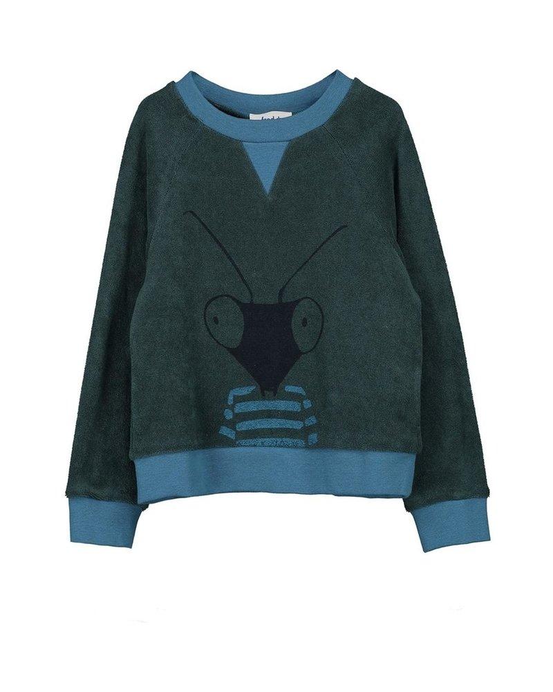 Sweater - Tobe Petrol Green