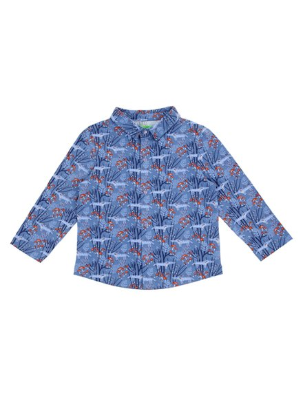 OUTLET // Shirt - Lucas Wolves Blue