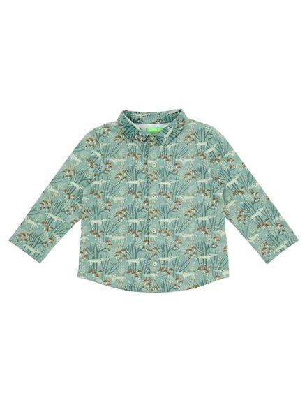 OUTLET // Shirt - Lucas Wolves Green