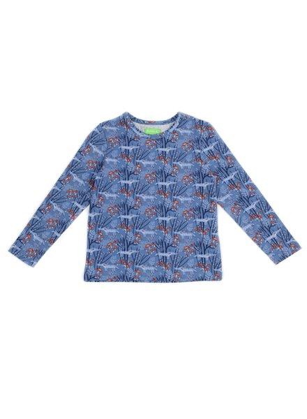 OUTLET // T-shirt - Francis Wolves Blue