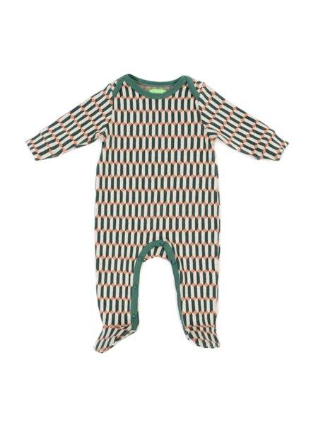 Babysuit - Olaf Blocks Green