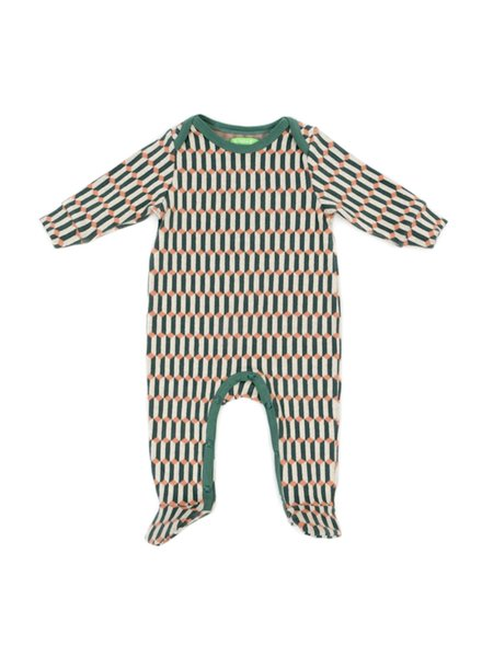 OUTLET // Babysuit - Olaf Blocks Green