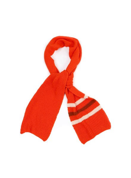 Scarf - Tangerine Red
