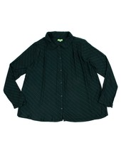 Shirt - Odette Diagonal Green