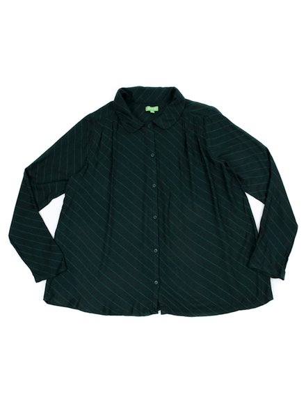 Shirt - Odette Diagonal Green