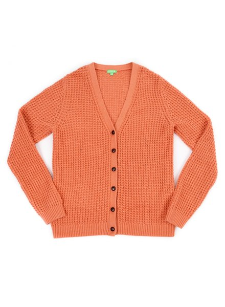 OUTLET // Cardigan - Nadia Tawny Pink