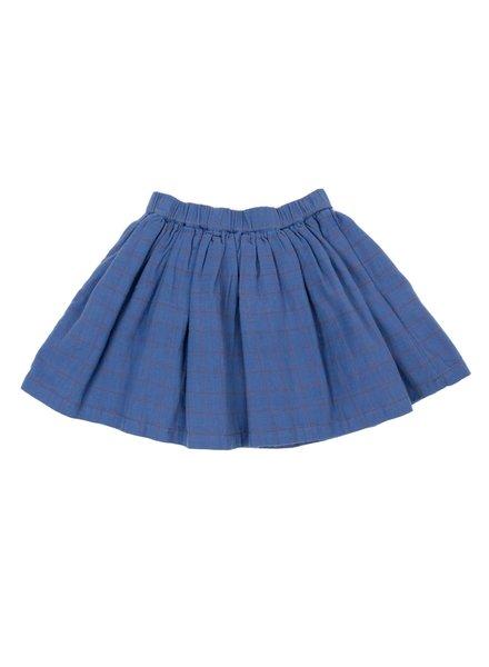 Skirt - Adele Grid Blue
