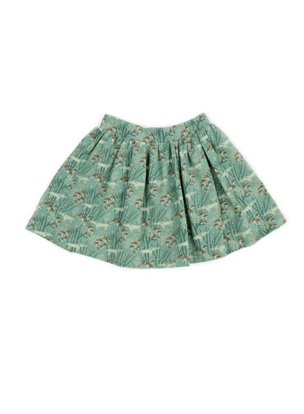 Skirt - Isadora Wolves green