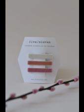Hair accessories - trio velvet rose