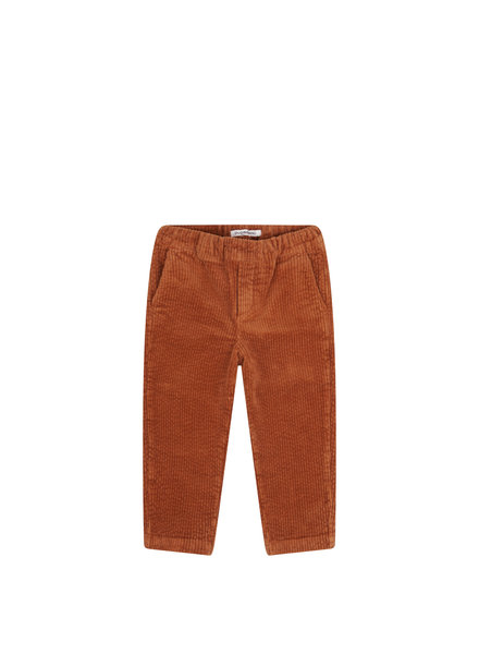OUTLET // Tapared trouser - Leather Brown