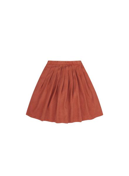 Midi skirt - Red Wood