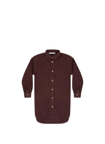 Shirt dress - Bitter Chocolate
