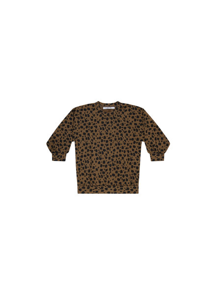 Oversized sweater - Scribble Print Kangaroo