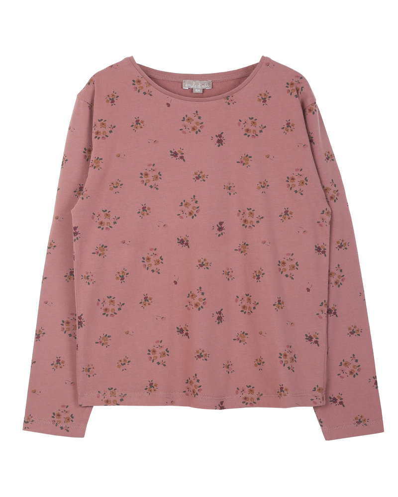 t-shirt - chataigne floral