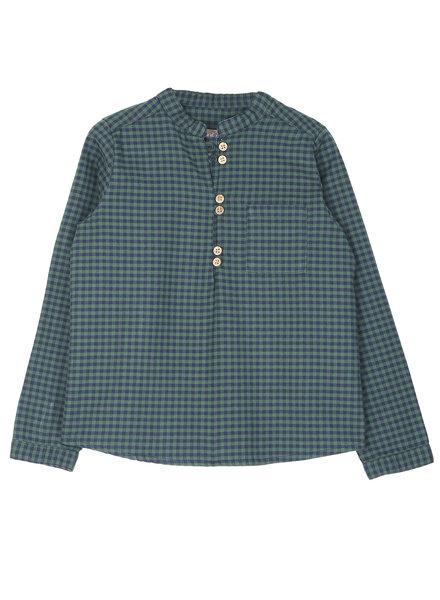shirt - vichy vert