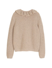 pullover - rose lurex