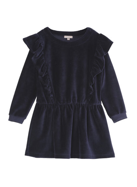 dress - marine ruffle