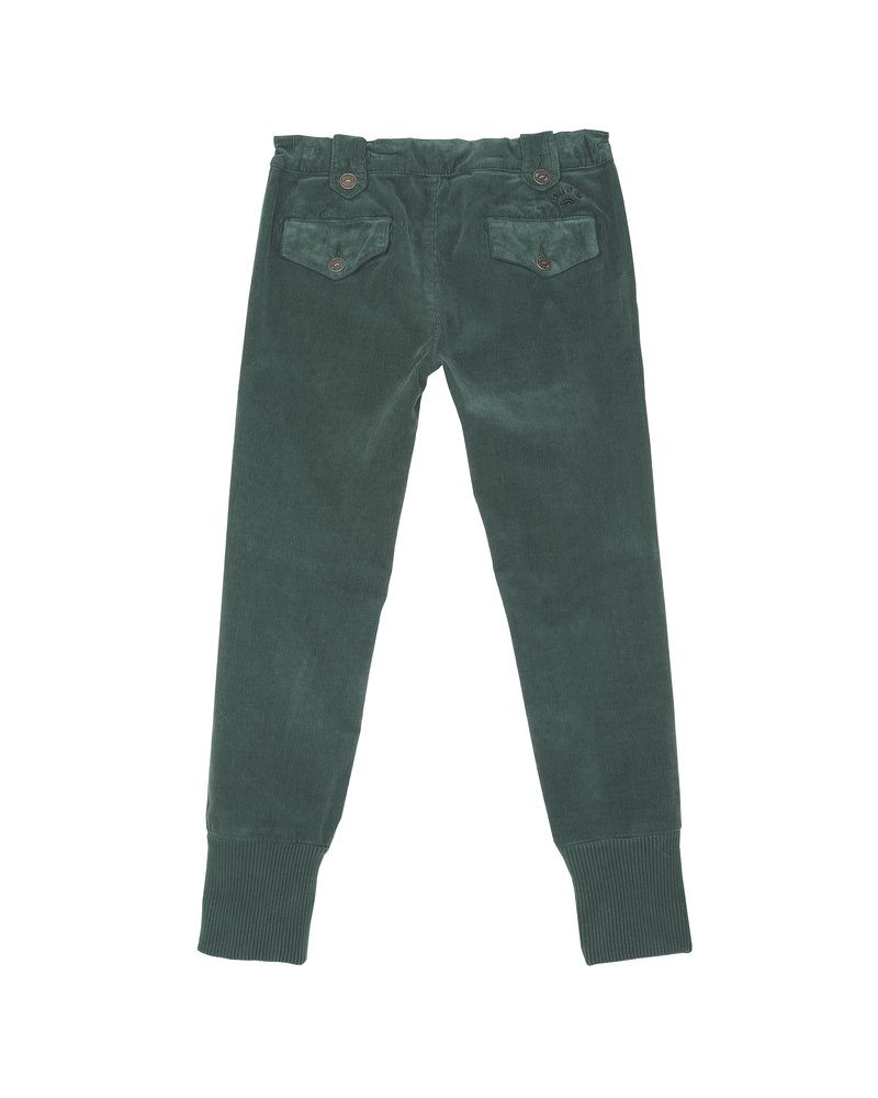 OUTLET // trousers - vert