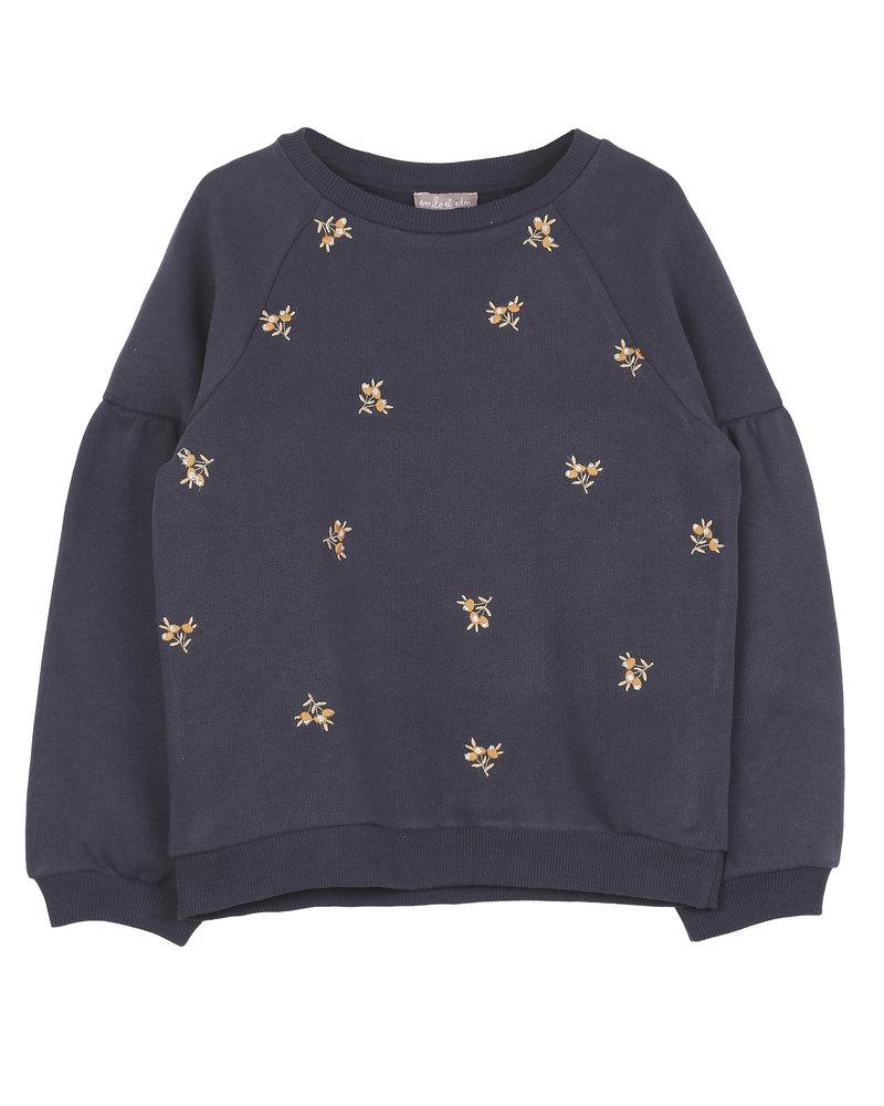 sweatshirt - bitume
