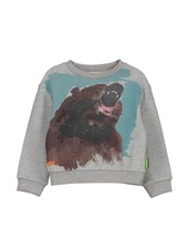 Sweater - Toon Bear White
