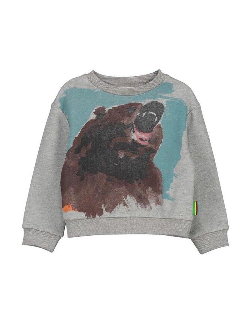 Sweater - Toon Bear White
