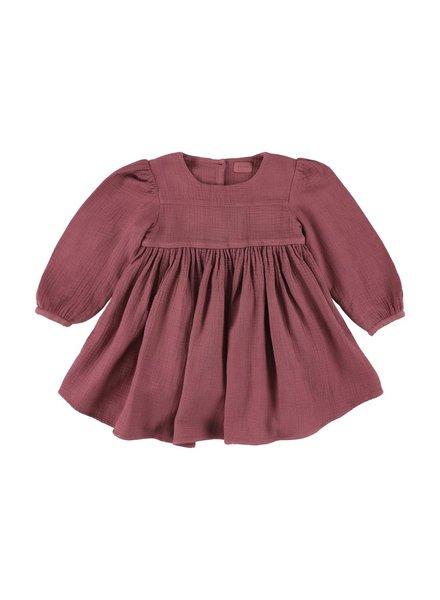 Dress - Kenzie Gun Rose