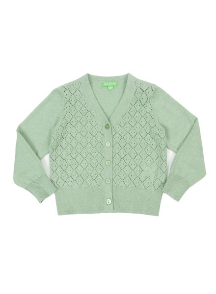 Cardigan - Alicia Frosty Green