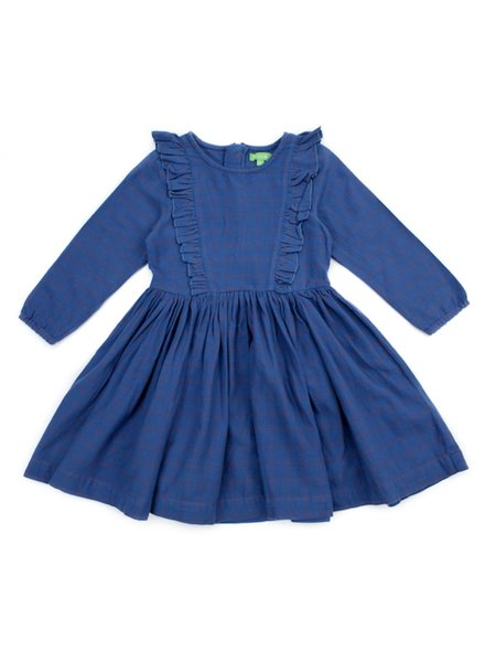Dress - Coco Grid Blue