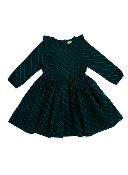 Dress - Coco Diagonal Green