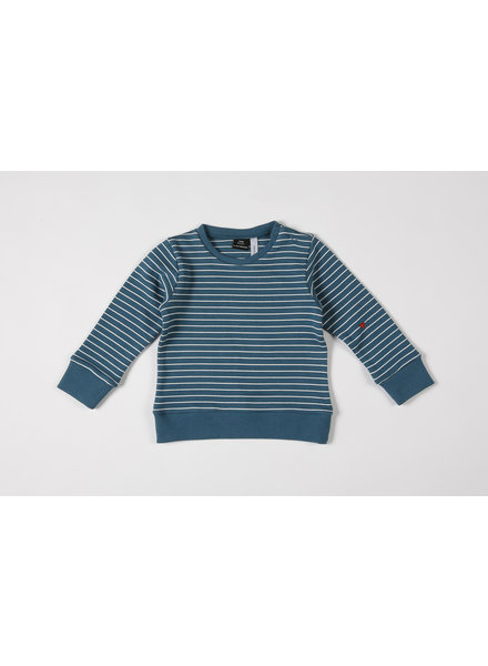 Sweatshirt - La Linea Teal