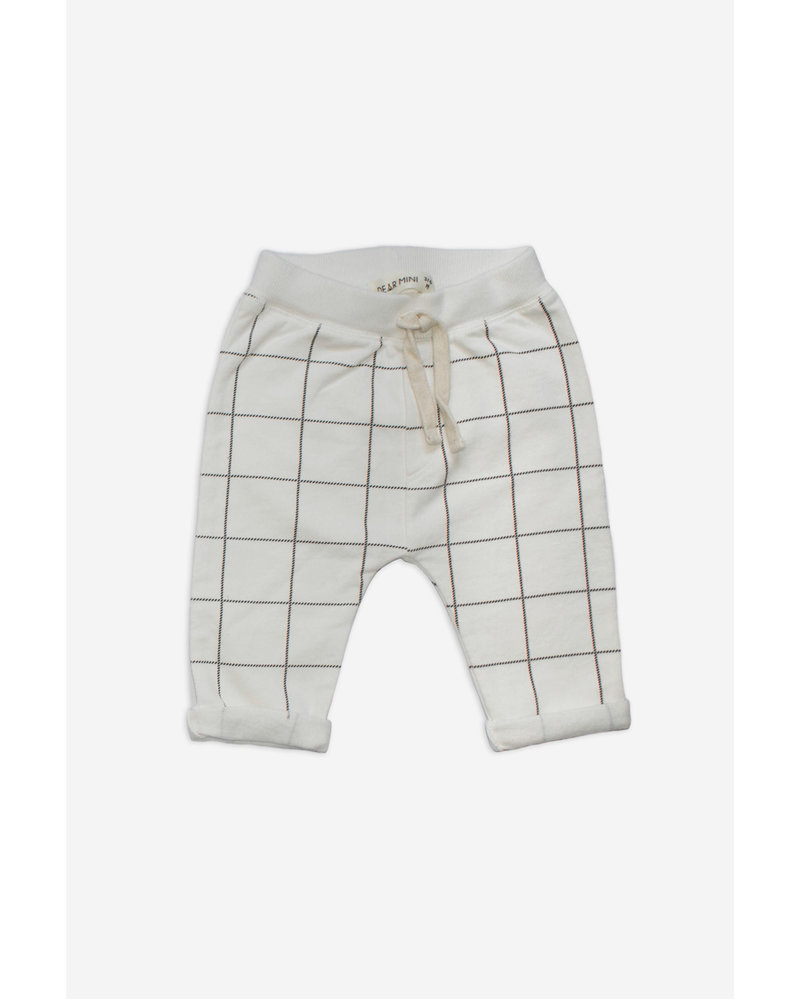 OUTLET // Pants - Checked Ecru