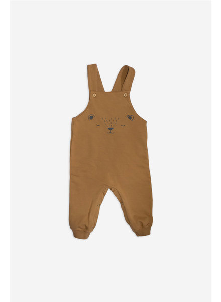 Dungaree - Bear Face Tofee
