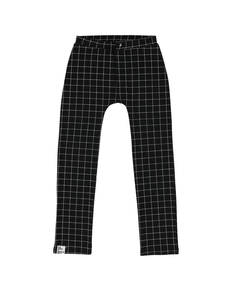 Skinny pants - black lines