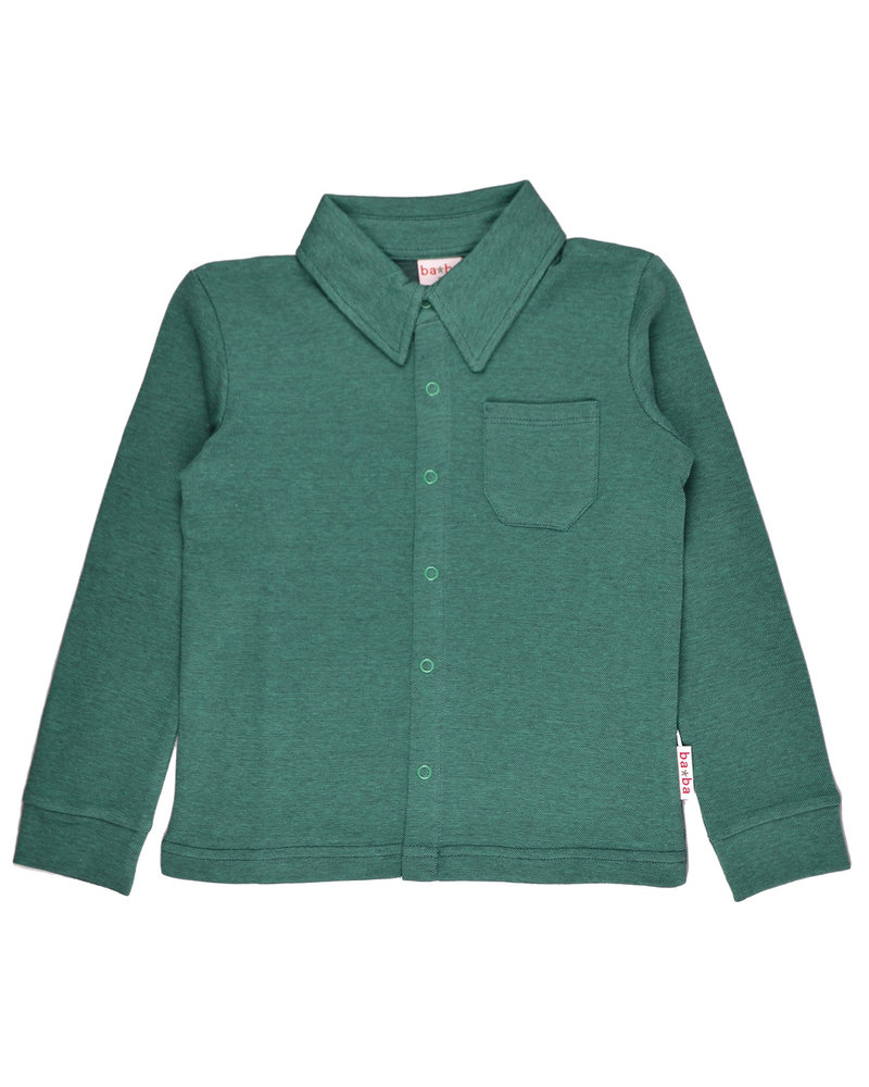 OUTLET // Shirt boys - Bicolor Green