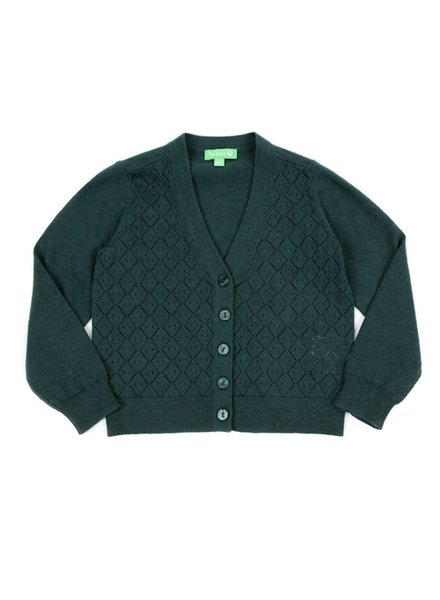 OUTLET // Cardigan - Alicia Dark Green