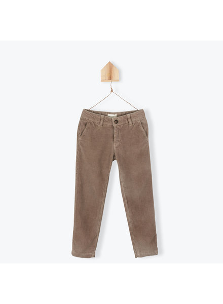 OUTLET // Pants velours - chataigne