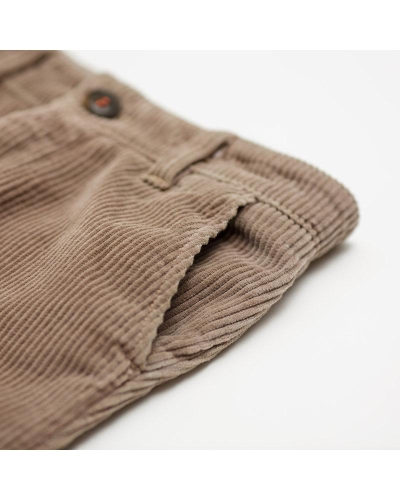 Pants velours - chataigne